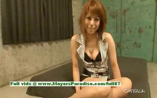 rui shiina innocent oriental hotty gets nipples
