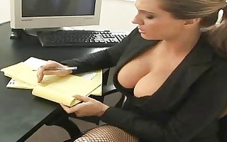 my voluptuous boss asked to immediately fucking