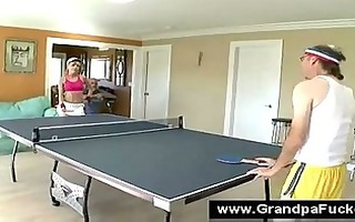 blonde teen has her cum-hole licked by a