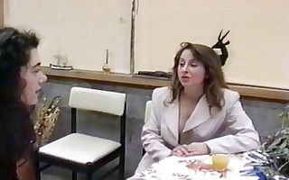french mature hairy housewife &; girl friend