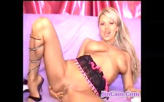 golden-haired camgirl big o squirt multi time