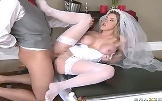 breathtaking bride kayla paige receives her tight