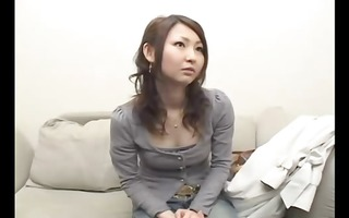 japanese angel acquires blindfolded and then