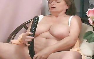 juvenile bro gives granny a large o