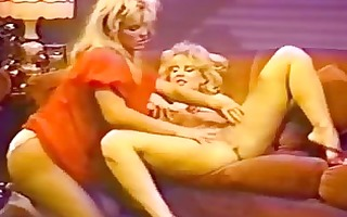 retro blonde lesbians sweet pussy licking