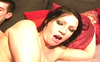 crystal, beautiful milf anal drilled