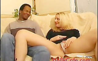 blond wishes threesome dick for her and her ally