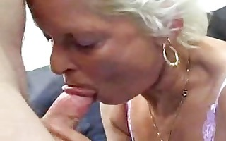 granny sucks copulates and swallows !