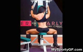 sexy fitness girls and muscled gfs!