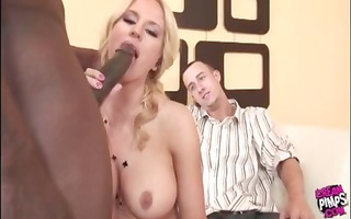 chelsea gets it on with the dark pounder instead