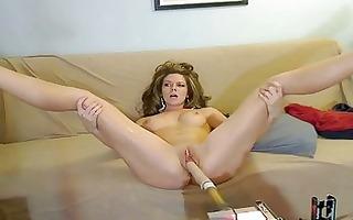 non-professional sex machine web camera kimber