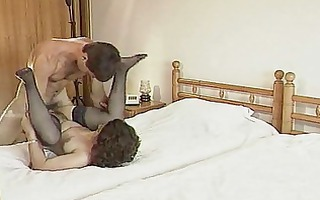 brunette housewife sucks wang and acquires