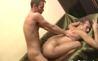 hardcore homosexual booty banging with enormous