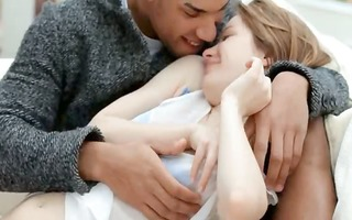 charming euro girl sex with dark