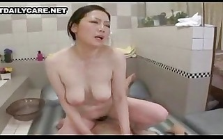 washroom asians