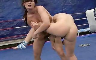 hot euroepan gals fighting