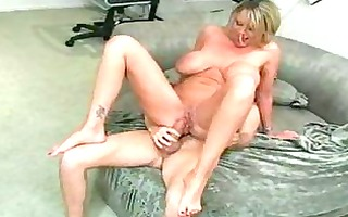 large titty milf seduces her sons college buddy