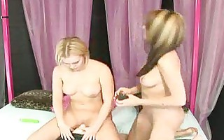 charlie laine controls the sybian for sasha knox