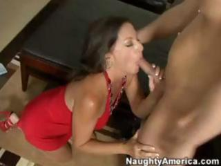 Margo Sullivan is a sexy brunette cougar that