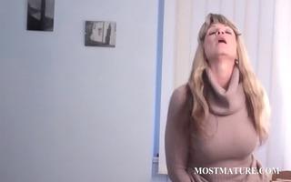 mature whore teasing her cunt