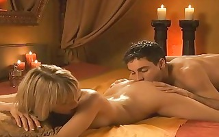 lovely blonde gets butt licked and fingered