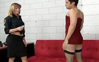 strapon for cd prisioner and police mistress