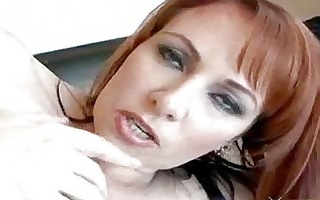 hot busty redhead cougar kylie ireland anal fuck