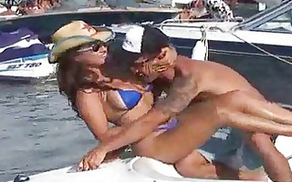hardcore fucking delights on the bikini boat