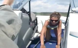 my girlfriend anal gangbanged on the yacht