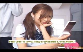 miyu hoshino asian schoolgirl enjoys getting