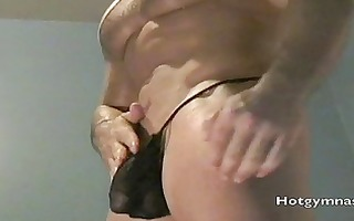 thick cocked wrestling man from hotgymnast.com