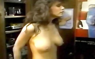 retro cum produced for sexy golden-haired
