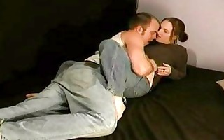 amateur pair reality foreplay home movie scene