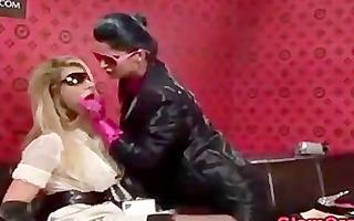 glamour satin lesbian foreplay