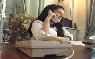 enjoyment karins - german milf nurse screwed by