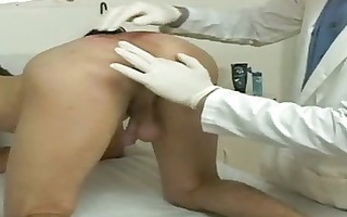anal exams for a slim pliant twink