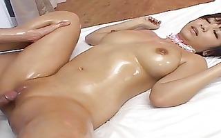 naughty oiled up meguru kosaka hot double fuck