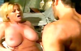 sexual carolyn monroe rams a hard cock down her