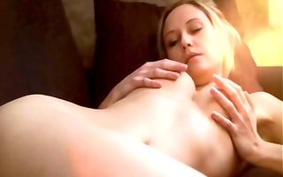 golden-haired danish hotty is horny and