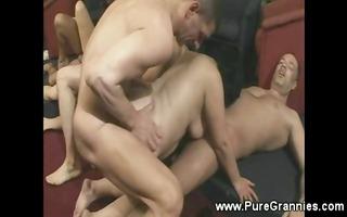 pump n drill granny orgy