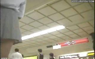 subway hidden camera upskirt pants