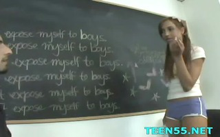 legal age teenager angel gets fucking surprise