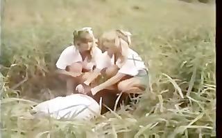 retro schoolgirls pleasure