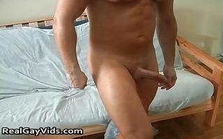 julian jerking his wonderful firm homosexual jock