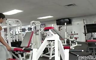 the gym fuck