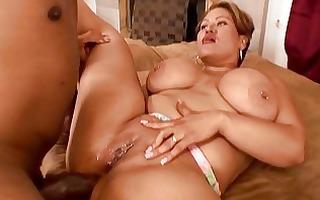 large dark cock in tight older wazoo
