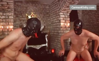 fellows getting gazoo spanked and drilled