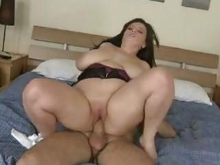 Arianna riding cock as her big ass boobies bounce