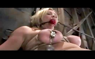 blonde honey receives the full treatment during