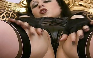 softcore masturbations of busty milf in nylons